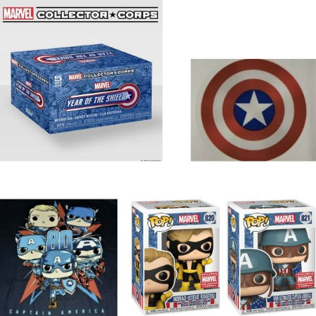 Funko Box Collectors Corps Marvel Year Of The Shield - XL