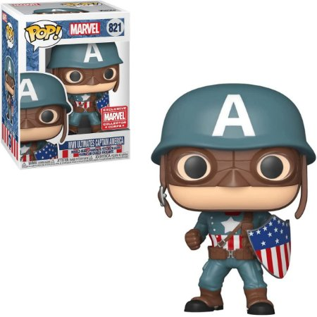 Funko Pop Marvel 821 WWII Ultimates Captain America