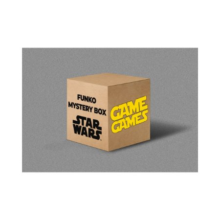 Funko Mystery Box GameGames - Star Wars (Caixa com 6 Funkos Pop)