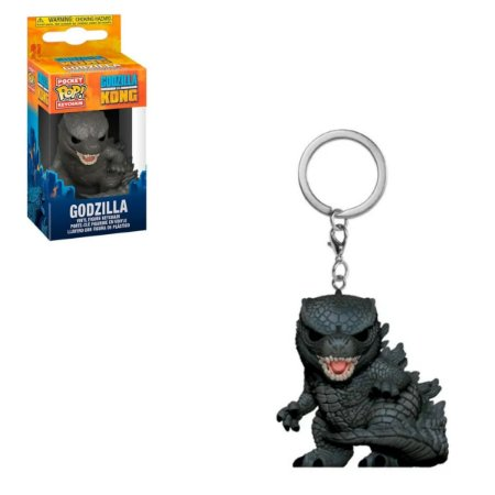 Chaveiro Funko Pocket Pop Godzilla - Godzilla Vs Kong