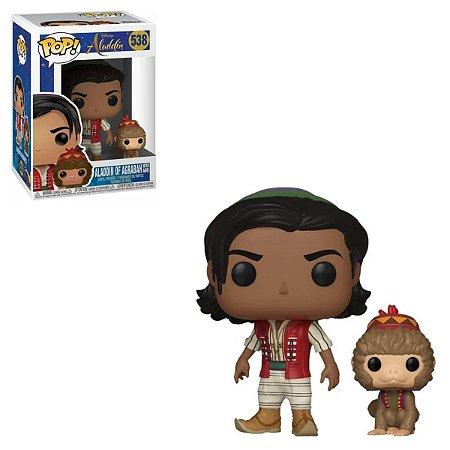 Funko Pop Disney Aladdin 538 Aladdin Of Agrabah With Apu