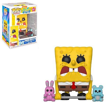 Funko Pop Spongebob 917 Bob Esponja Weightlifter Exclusive