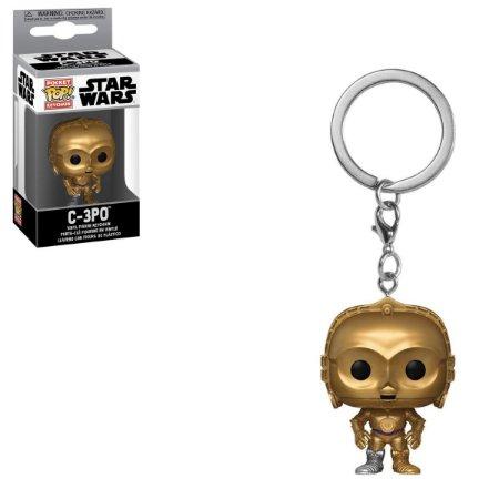 Chaveiro Funko Pocket Pop Star Wars C-3PO