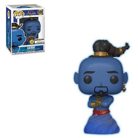 Funko Pop Disney Aladdin 539 Genie Glows in The Dark