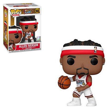 Funko Pop NBA Legends 102 Allen Iverson Philadelphia 76ers