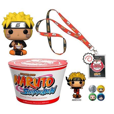 Funko Pop Naruto Mystery Box c/ 823 Naruto Uzumaki w/ Noodles