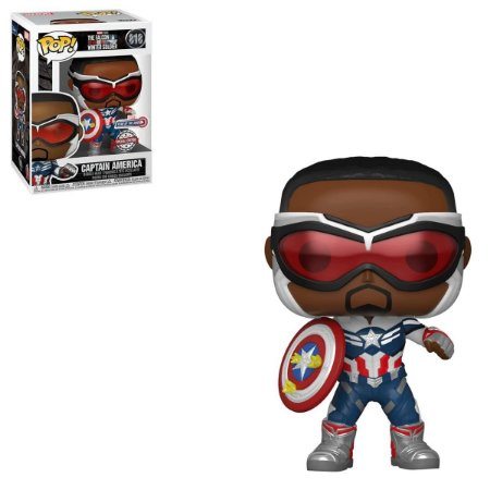 Funko Pop Falcon And The Winter Soldier 818 Captain America