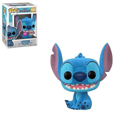 Funko Pop Disney Lilo & Stitch 1045 Stitch Exclusive Flocked