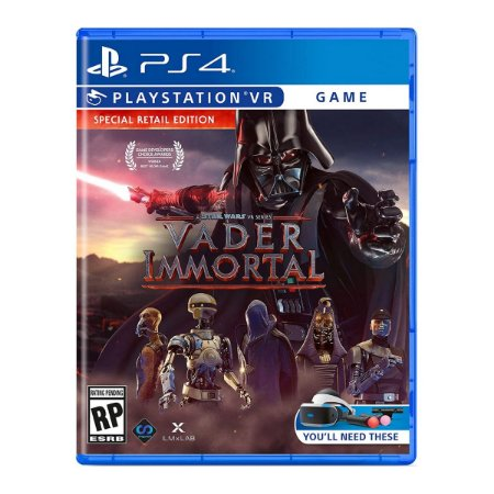 Vader Immortal A Star Wars VR Series - PS4 VR
