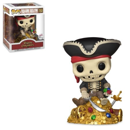 Funko Pop Disney Pirates Of The Caribbean 783 Treasure Skeleton