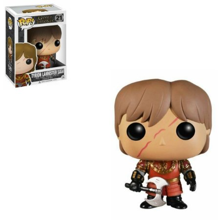 Funko Pop Game Of Thrones 21 Tyrion Lannister in Battle Armor