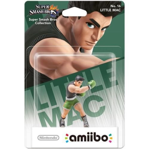 Amiibo Little Mac Super Smash Bros