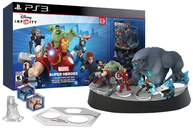 Disney Infinity 2.0 Marvel Super Heroes Collector's Edition PS3