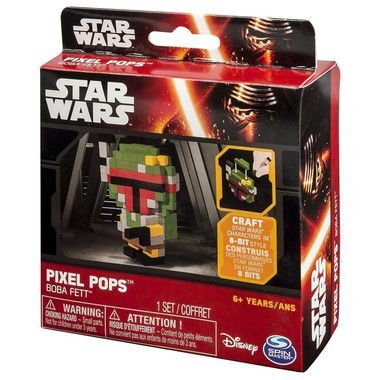 Star Wars Episode VII Pops Pixel Boba Fett