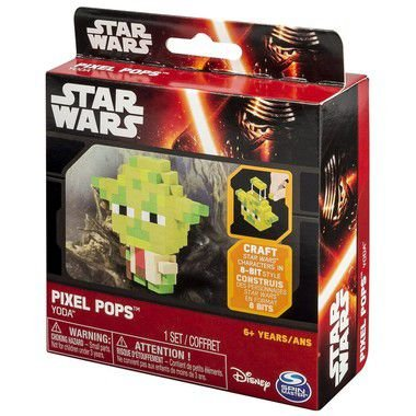 Star Wars Episode VII Pops Pixel Yoda
