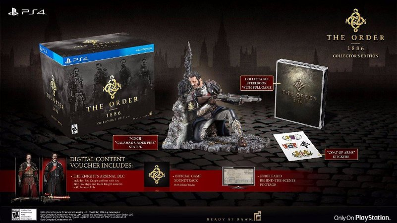 The Order: 1886 Collector's Edition PS4