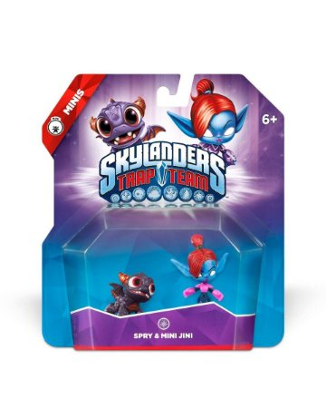 Skylanders Trap Team Minis: Spry & Mini Jini