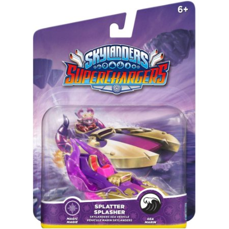Skylanders SuperChargers: Vehicle Splatter Splasher