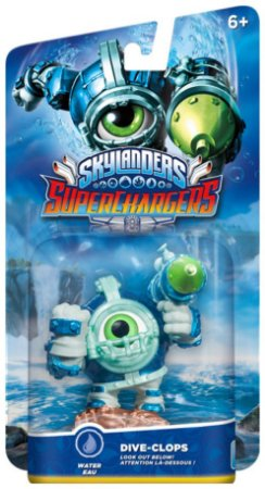 Skylanders SuperChargers: Drivers Dive Clops