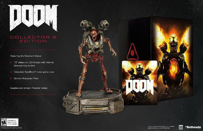 Doom: Collector's Edition Xbox One