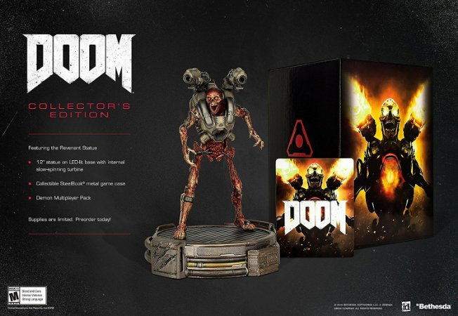 Doom: Collector's Edition PS4