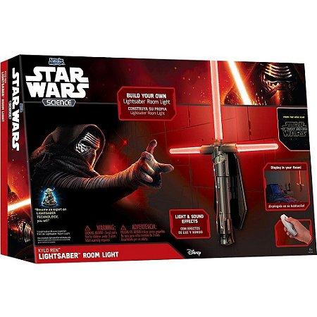 Luminária 3D Star Wars Sabre Kylo Ren