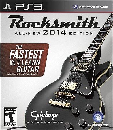 Rocksmith 2014 Edition - Somente Jogo PS3