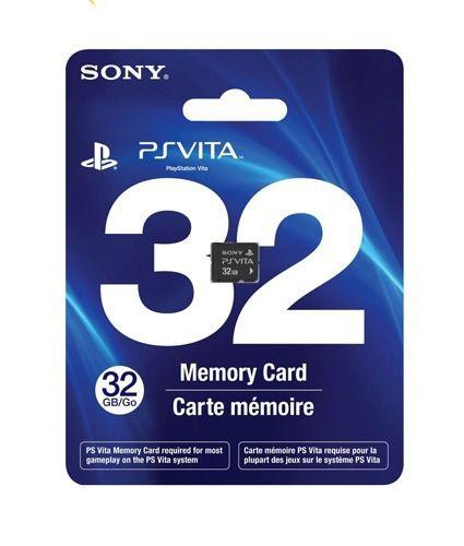 PlayStation Vita Memory Card Cartão de Memória 32GB