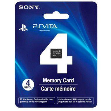 PlayStation Vita Memory Card Cartão de Memória 4GB
