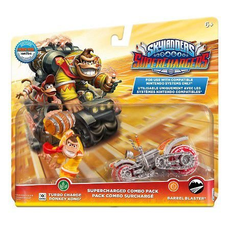 Skylanders Superchargers Combo Pack Donkey Kong-Barrell Blaster