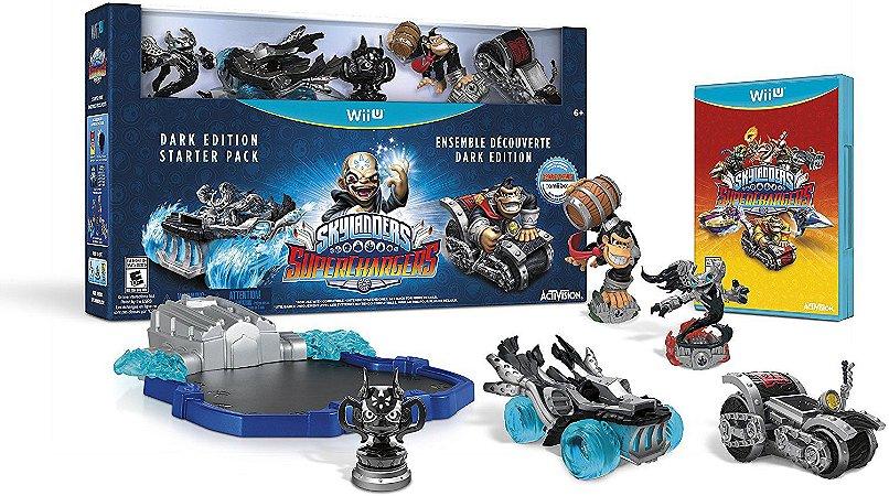 Skylanders Superchargers Dark Edition Starter Pack Wii U