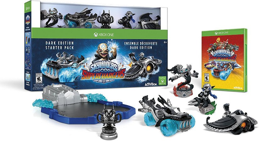 Skylanders Superchargers Dark Edition Starter Pack Xbox One