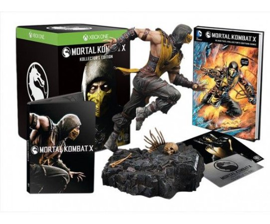 Mortal Kombat X Kollector's Import Edition - Xbox One