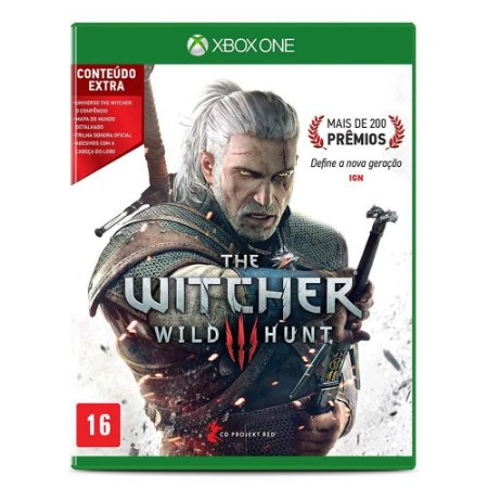 The Witcher 3 Wild Hunter c/ Conteúdo Extra - Xbox One