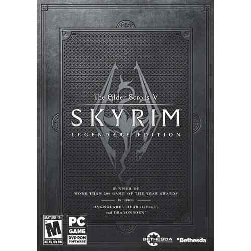 The Elder Scrolls V Skyrim Legendary Edition PC DVD