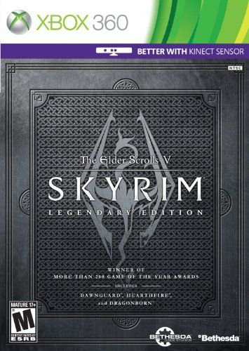 The Elder Scrolls V Skyrim Legendary Edition Xbox 360