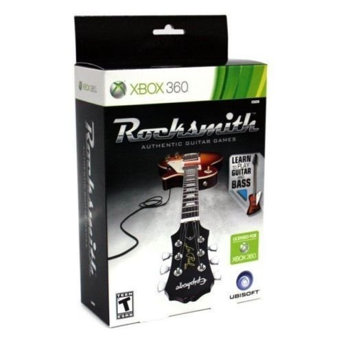 Rocksmith Guitar and Bass + Cabo Xbox 360