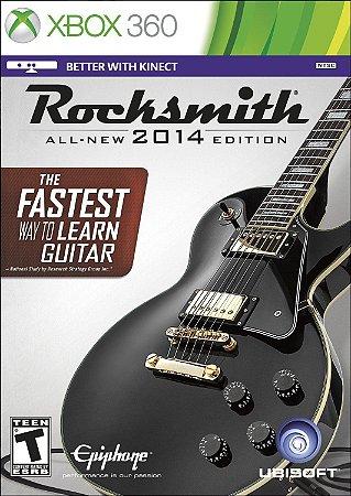 Rocksmith 2014 com Cabo Xbox 360