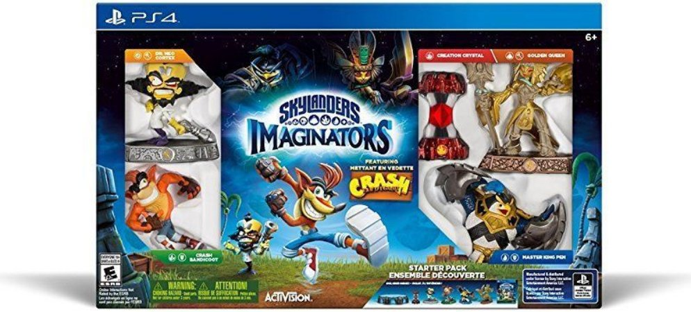 Skylanders Imaginators Crash Bandicoot Edition - PS4