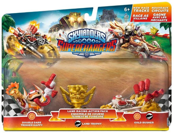 Skylanders SuperChargers Racing Land Pack