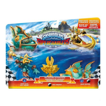 Skylanders SuperCharger Racing Sea Pack