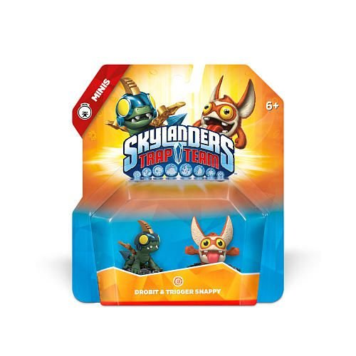 Skylanders Trap Team Minis: Drobit & Trigger Snappy