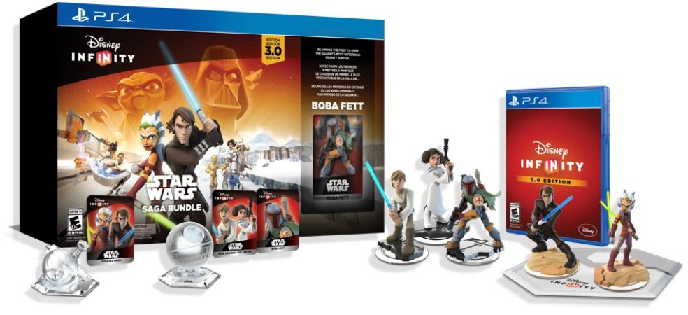 Disney Infinity 3.0 Star Wars Saga Bundle Collectors - PS4