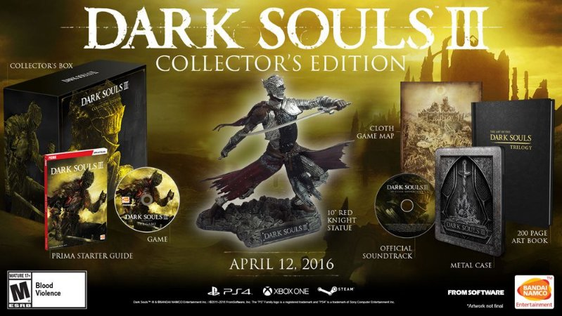 Dark Souls Iii Collectors Edition PS4