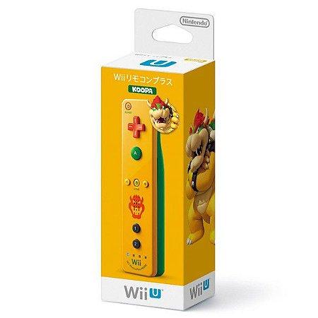 Controle Wii Wii U Remote Plus Bowser (Koopa)
