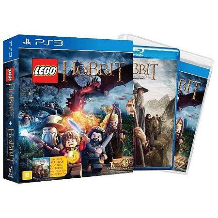Lego O Hobbit + Blu-ray O Hobbit Uma Jornada Inesperada - PS3