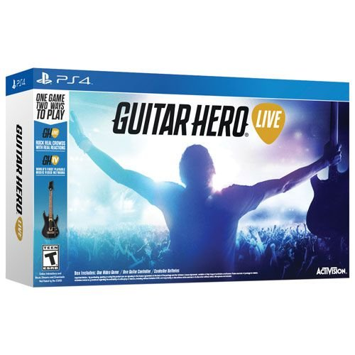 Guitar Hero Live Bundle com Guitarra PS4