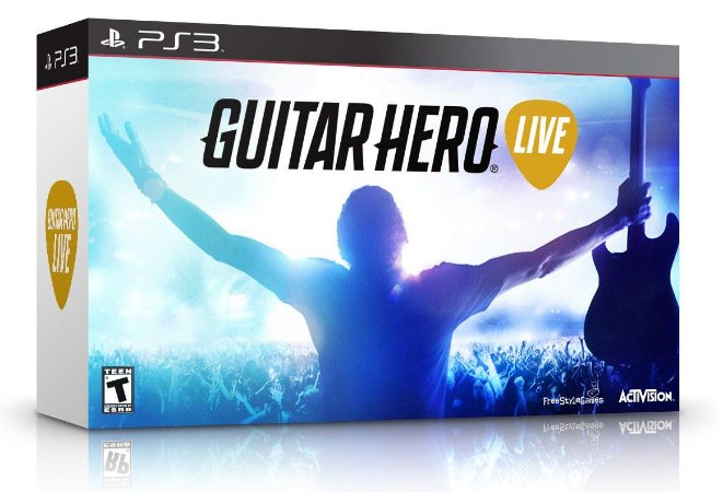 Guitar Hero Live Bundle com Guitarra PS3