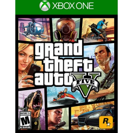 Grand Theft Auto V - GTA V - GTA 5 Xbox One