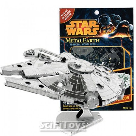 Star Wars Kits 3D Metal Model Millennium Falcon